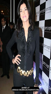 Sushmita Sen at Percept Anniversary