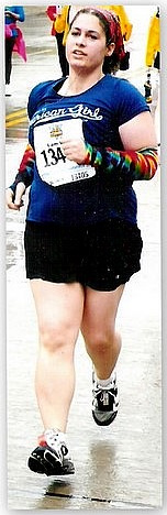 During My First Half Marathon  :)