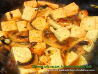 how to make Chinese mapo tofu at home
