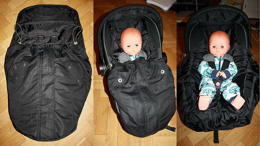 åkpåse till babyskydd