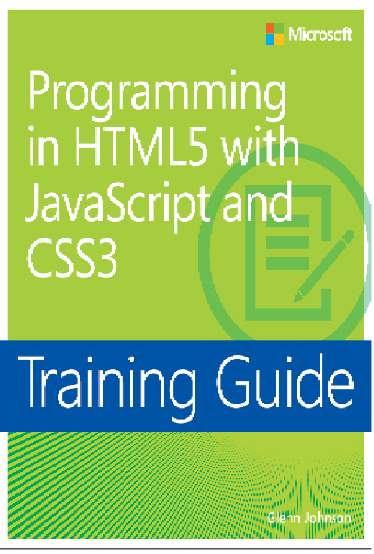 Programming in HTML5 with JavaScript and CSS3 : http://freecomputerbookspdf.blogspot.com/