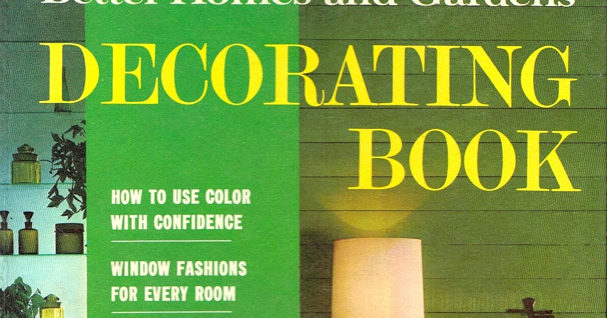 Apartment 528 by the book 1968 bh g technicolor livingrooms - Better homes and gardens cookbook 1968 ...