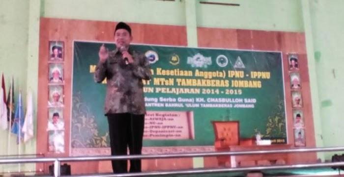 Gus Irfan Prihatin Ada Alumni Tambak Beras Ikut HTI