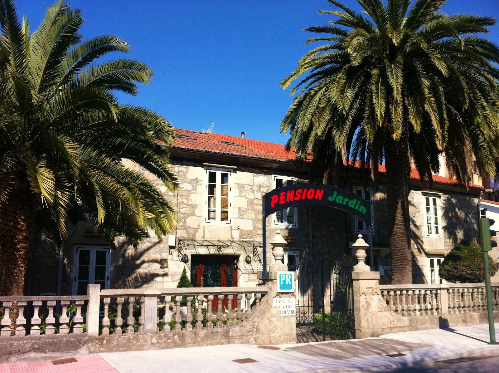 A casa dos martinez cooking blog a escasos 100m de for Restaurante casa jardin