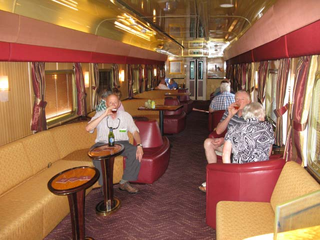 The 9 35 Train From London To Sydney The Ghan From Darwin