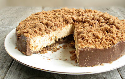Chocolate and Peanut Butter Crunch Cake