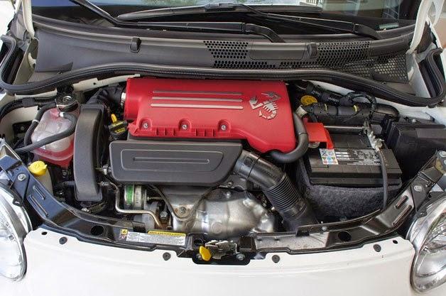 Fiat 500 Abarth Engine