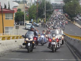 Operativo de Seguridad Vial por caravana motorizada