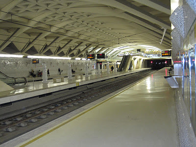 estacion metro Valencia 2011
