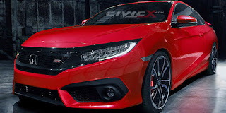 Production model Civic Si 2016