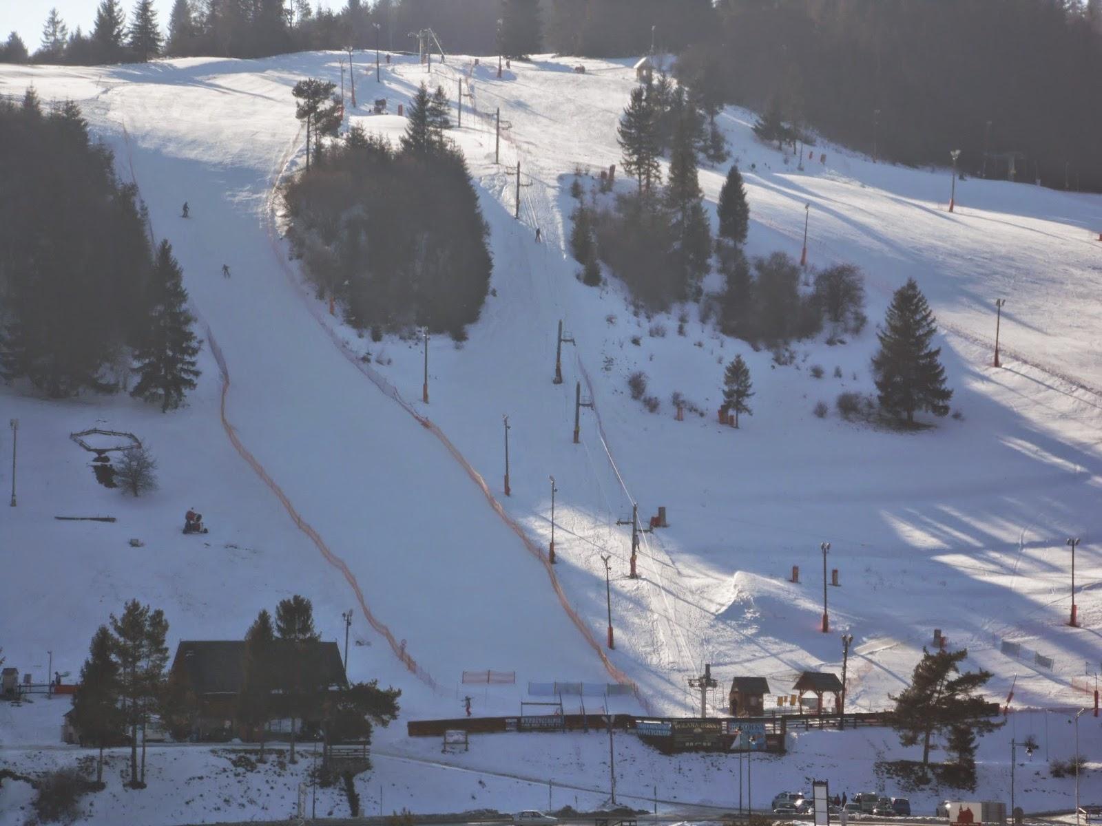 Polana Sosny wyciąg narciarski