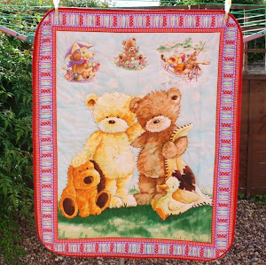 Tatty Teddies Cot Quilt