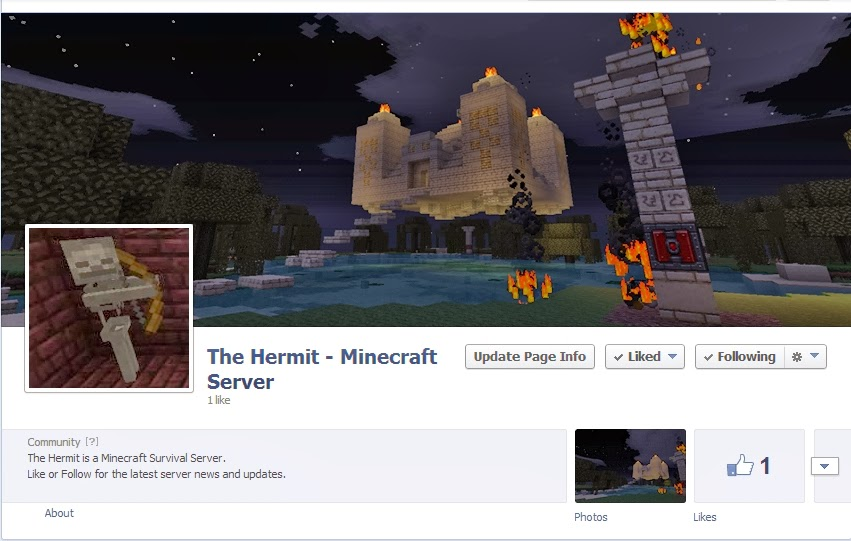 minecraft how to post screenshot