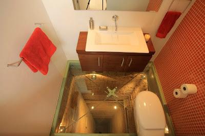 diseño de baño de un penhouse