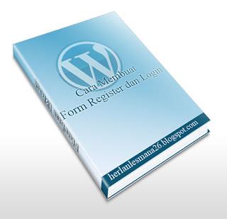Form Daftar / Register Di Wordpress - Herlan Blog