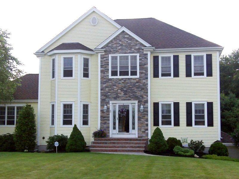 Fotos de fachadas de casas bonitas vote por sus fachadas - Casas con puertas blancas ...