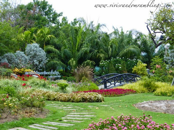 the Royal Pavillion at Royal Flora Ratchaphruek Chiang Mai