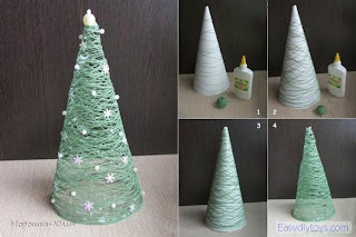 How to make handmade Xmas tree