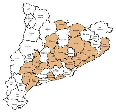 Cimas comarcales de Catalunya