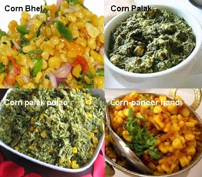 Spicy Corn Indian Recipes