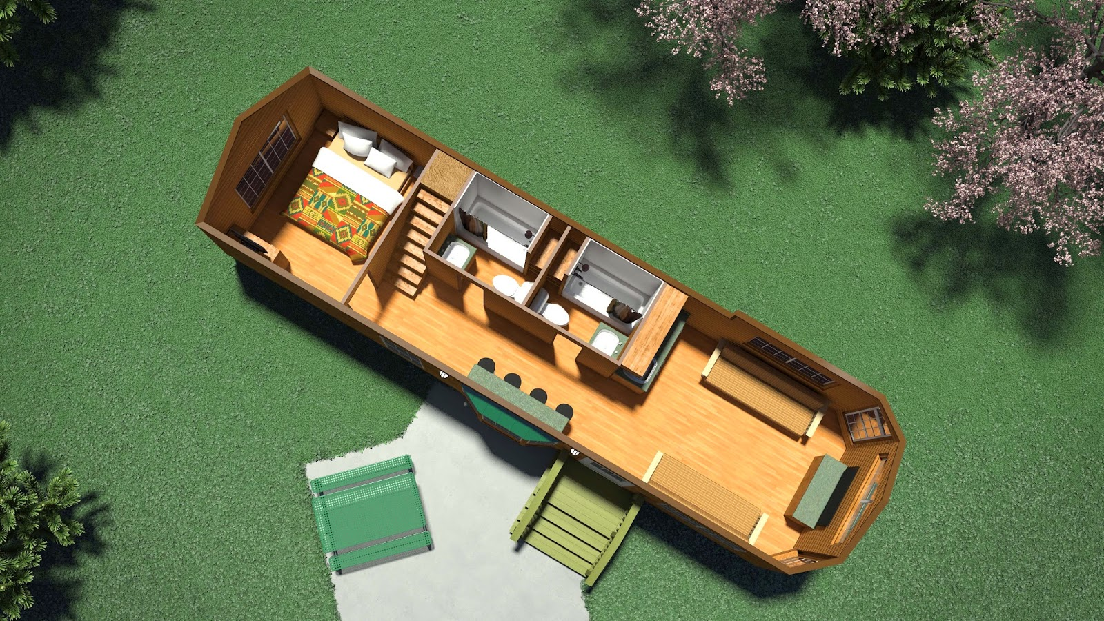 Cedar point to replace camper 39 s village campground with for Cedar cabin floor plans