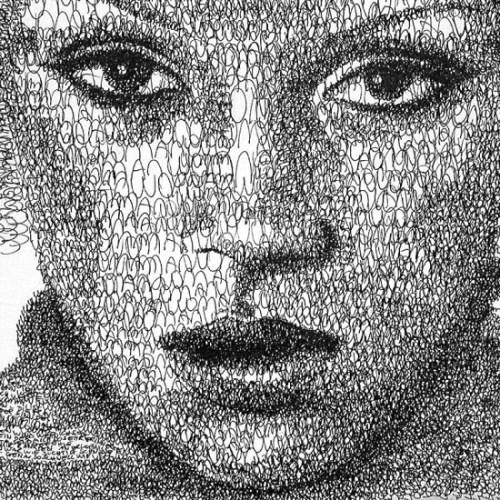 Amazing Written Portraits Of Anatol Knotek Seen On www.coolpicturegallery.us