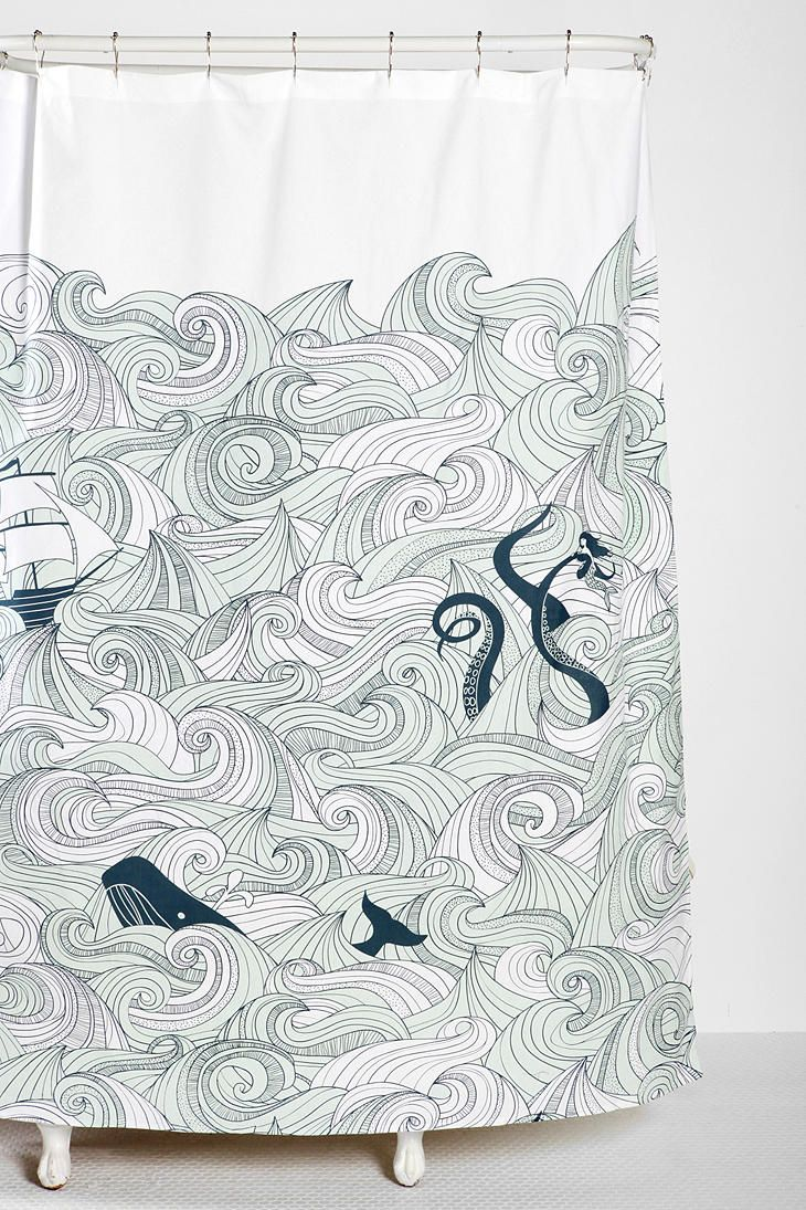 Whale shower curtain - Peacock Shower Curtain Urban Outfitters Elisa Cachero S Odyssey Curtain From Urban Outfitters