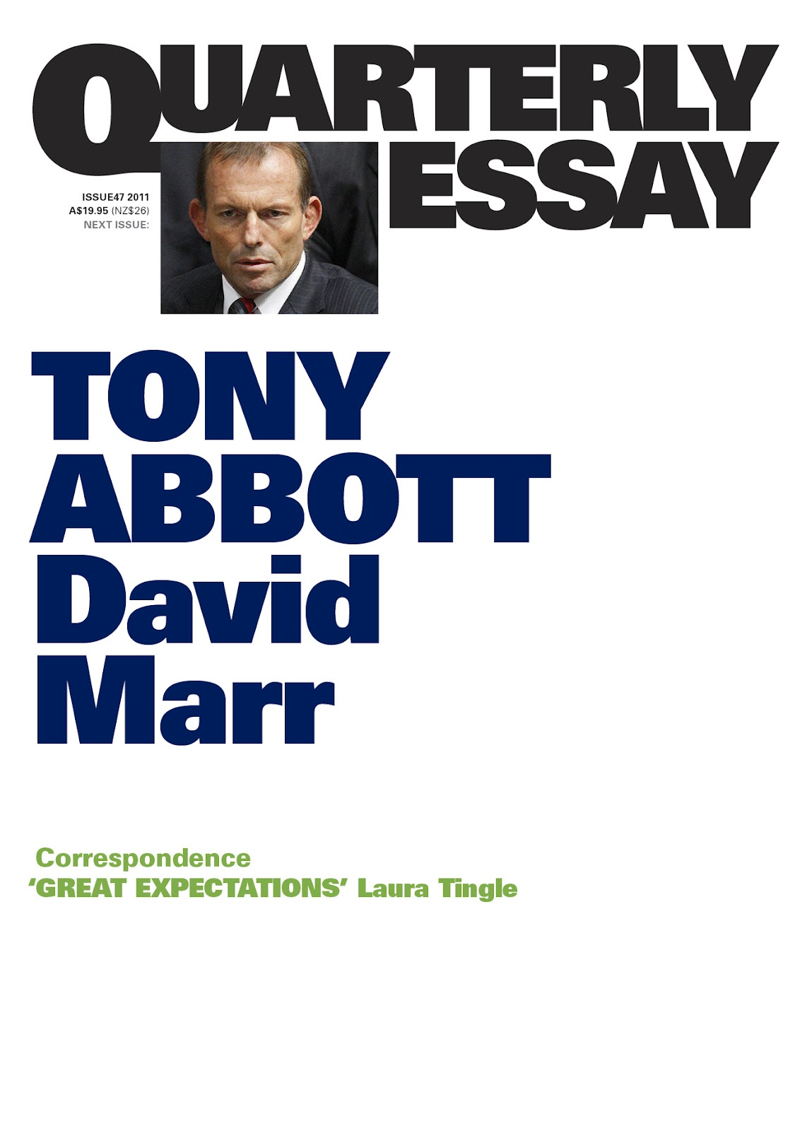 david marr journalist essay Marr worked as a journalist on the bulletin magazine and a collection of essays about the david marr's brilliant biography draws not only on a.