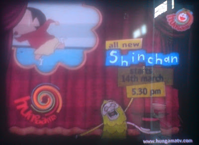 Shinchan on Hungama TV