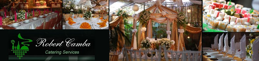 Robert Camba Catering Services - Wedding Caterer in Metro Manila