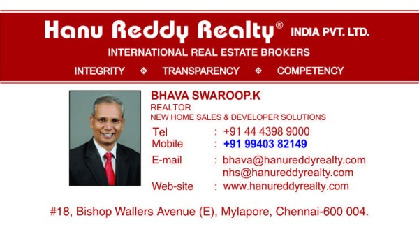 Hanu Reddy Realtor