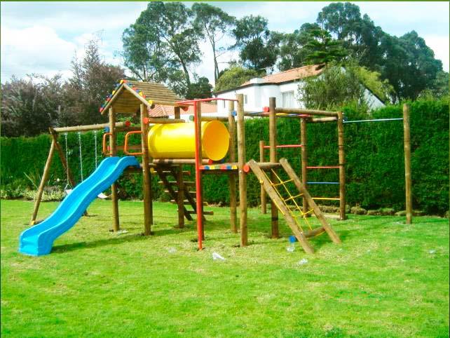 Alonso valencia - Parque infantil de madera ...