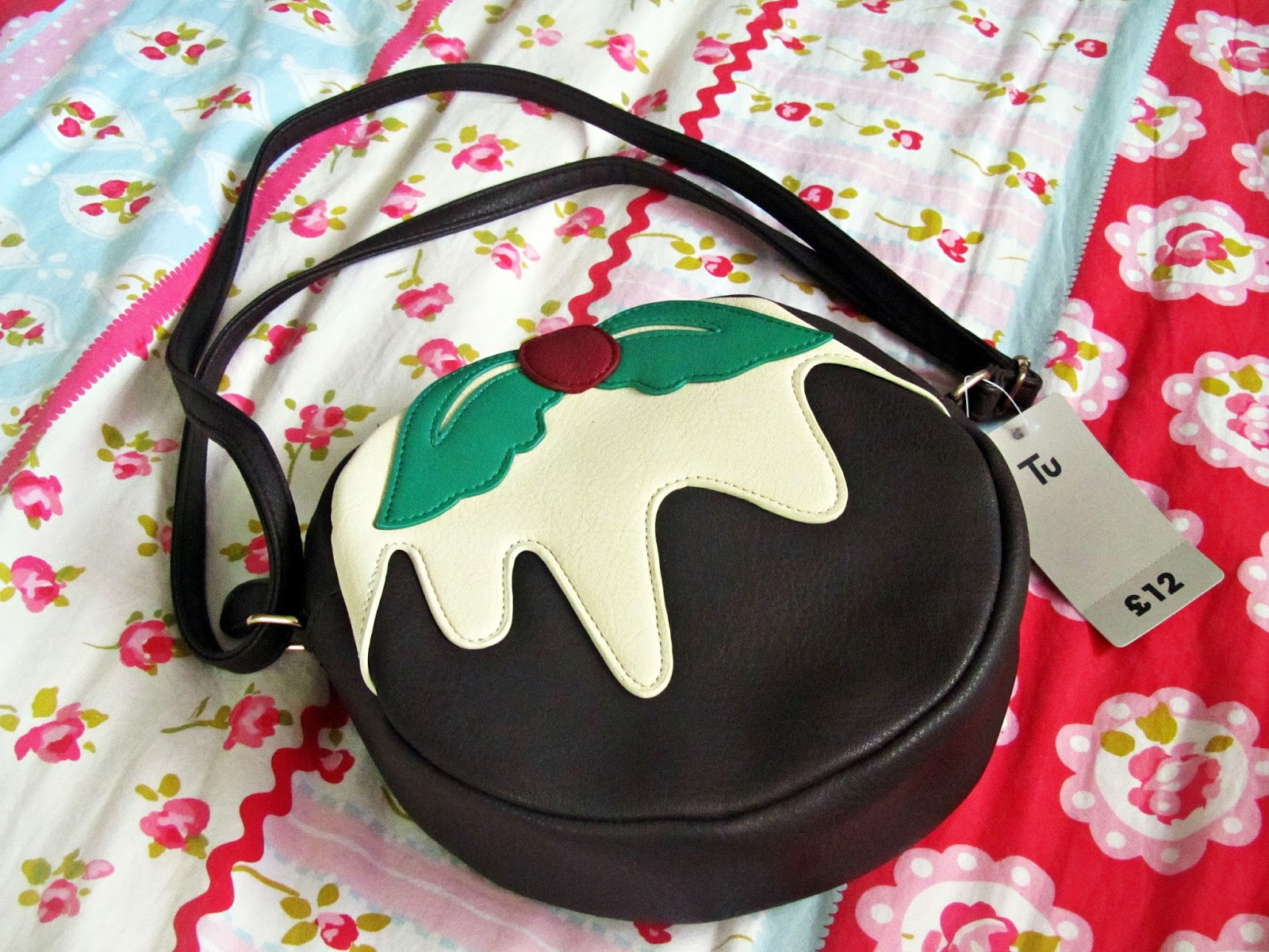 my novelty christmas handbags polka spots and freckle dots - Christmas Purses Handbags