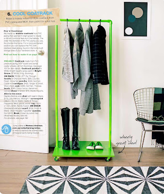 Daily imprint interviews on creative living easy for Coat hanger art projects