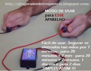 ELETROTERAPIA - Clique na fígura para ir ao blog do GFU - GERADOR de FREQUÊNCIA  ÚNICA