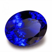 oval tanzanite gemstones