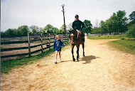 Me in a green plastic troxel helmet...and our W/S Sarah 10 years ago!!