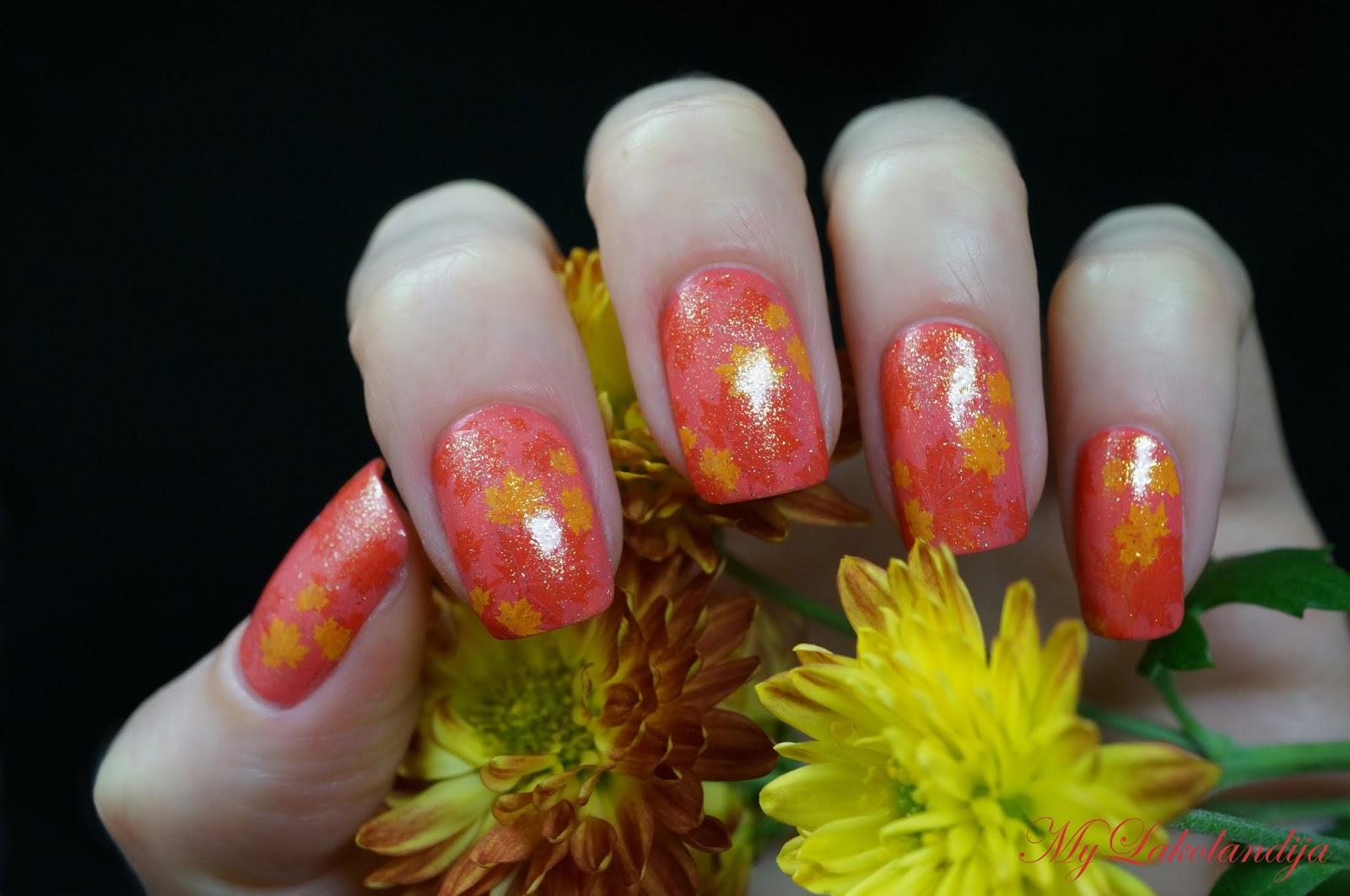 Ногти фото тема осень