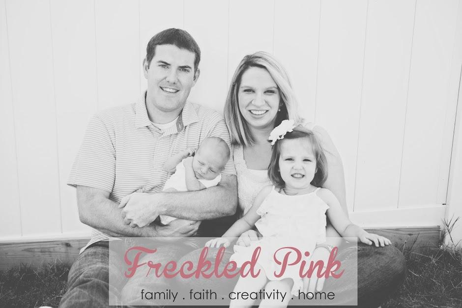 ::freckled pink::