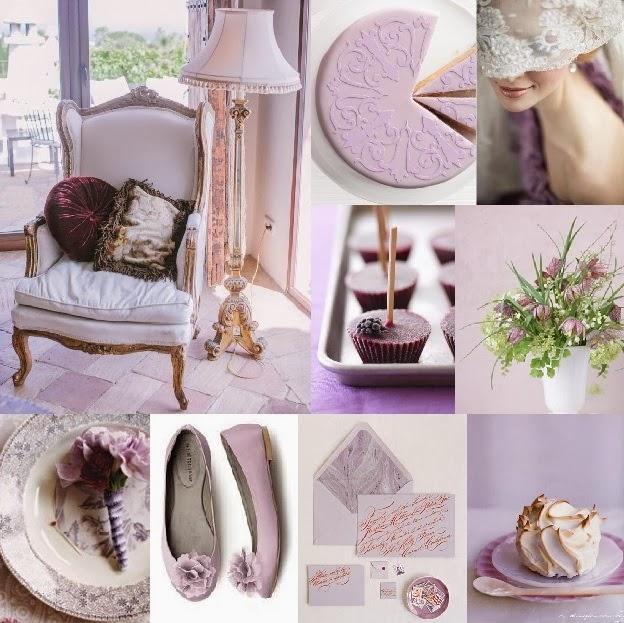 Svatby Barvy Kolaze Kolaz 11 V Barve Lila