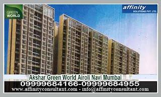09999684166 Airoli Navi Projects Akshar Green World Akshar Airoli