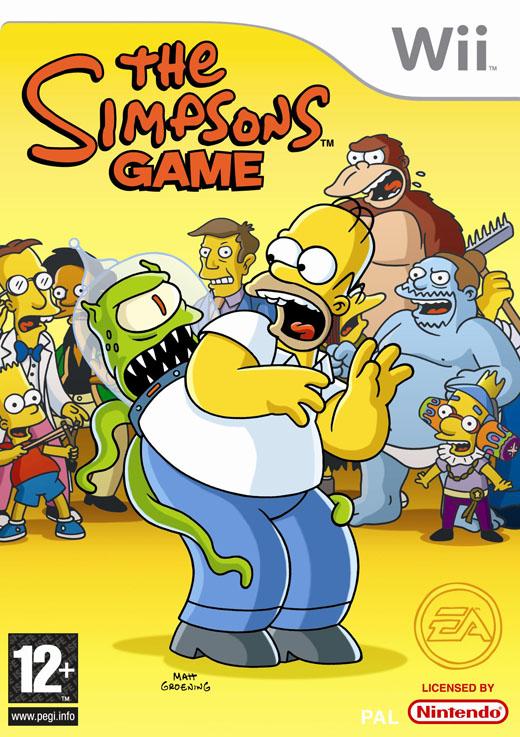 videos juegos de los simpson: