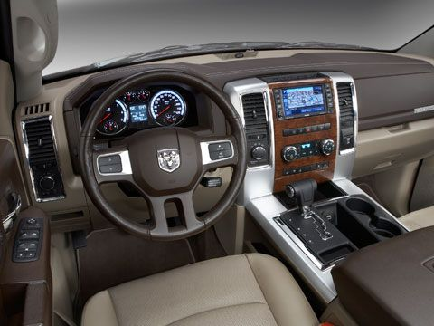 Dodge Ram Pickup 1500 Interior Dashboard