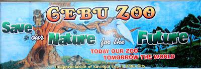 Cebu Zoo Signage