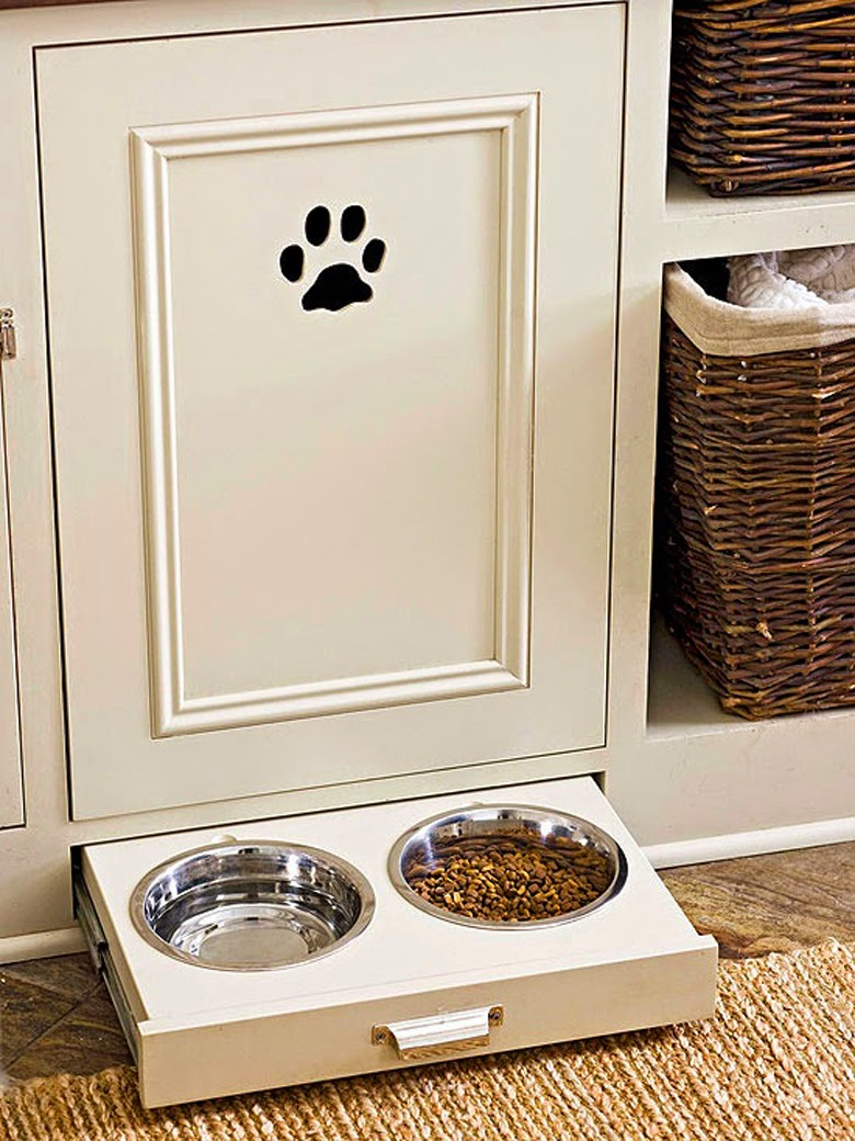 dog's bowl, smart kitchen storage ideas, kitchen solutions