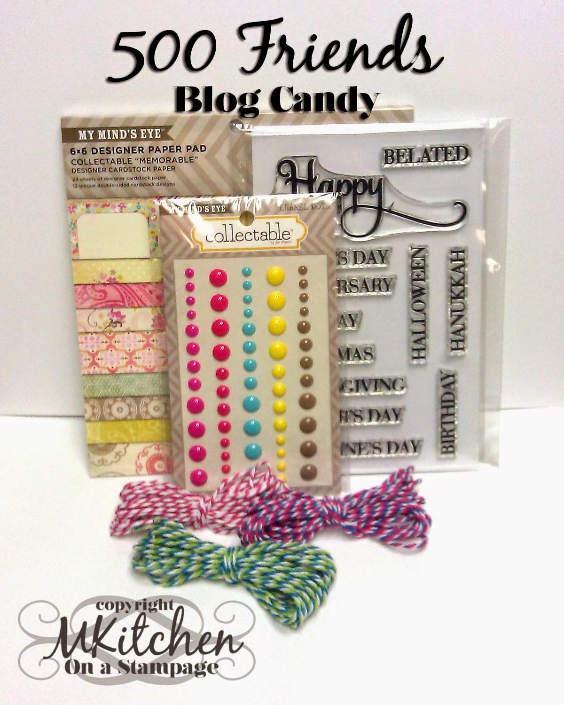 500 blog followers candy