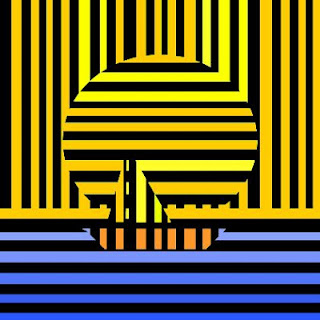 sailboat at sunset - psychedelic casino ar