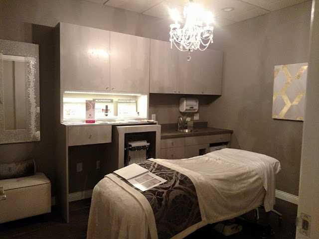 Michele pelafas for Spa treatment room interior design