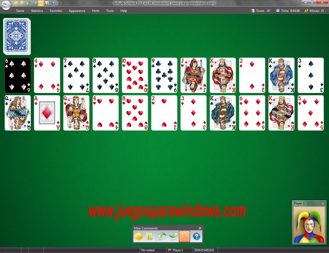 SolSuite Solitaire 2012 PC Screenshot