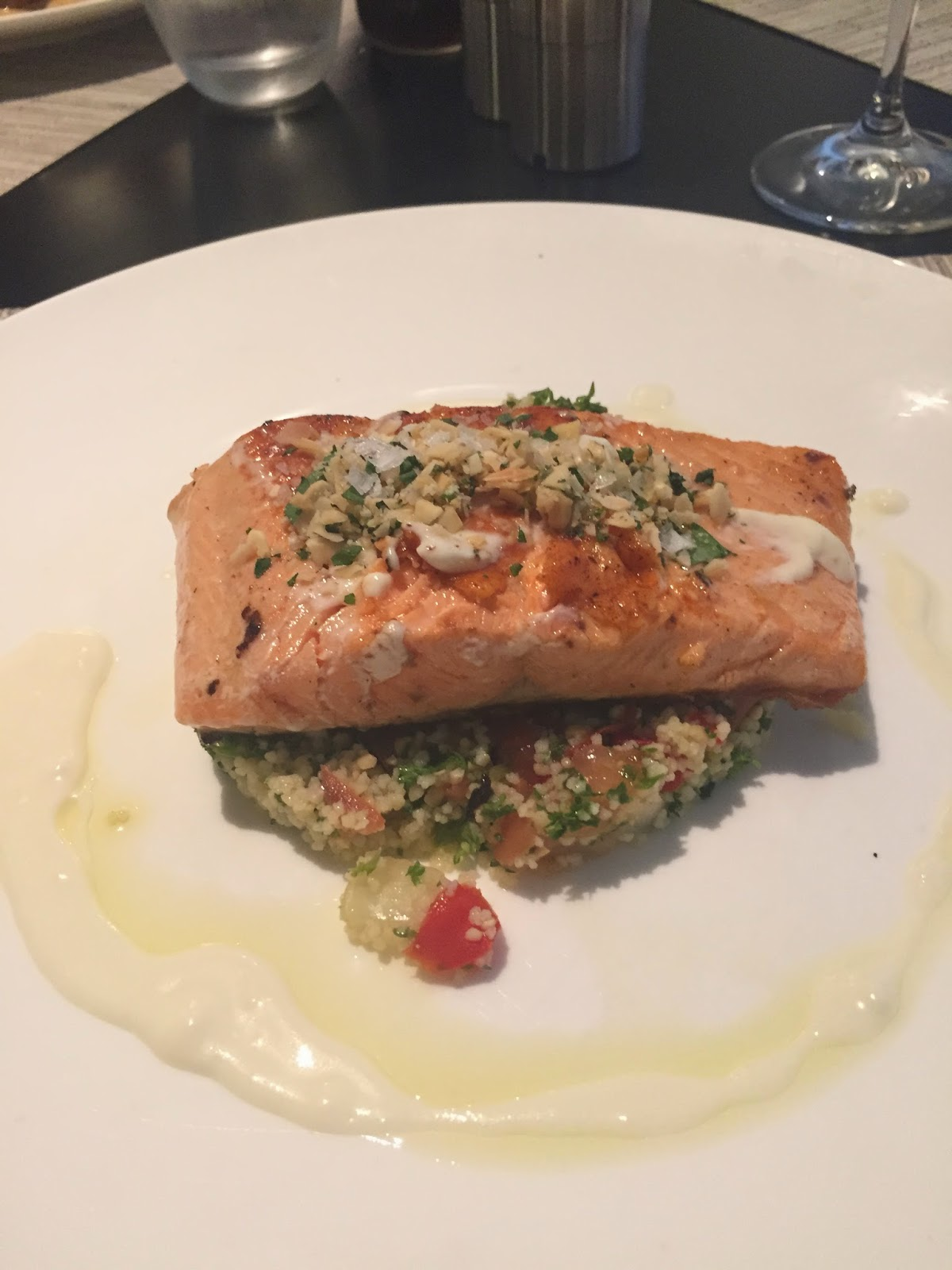 Vintaged Bar & Grill Cassie Cakes Review Ocean Trout